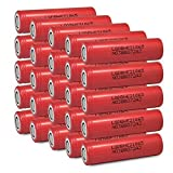 25 LG HE2 18650 2500mAh 35A 3.7v Rechargeable Flat Top Batteries