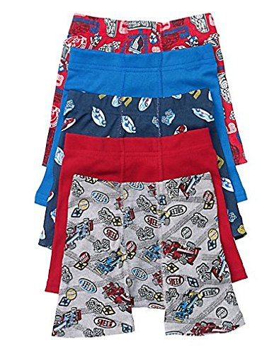 Hanes Toddler Boys' Printed Boxer Briefs with Comfort Flex® Waistband 5-Pack