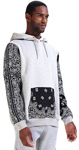 Pizoff Unisex Paisley Hoody Sweatshirts product image