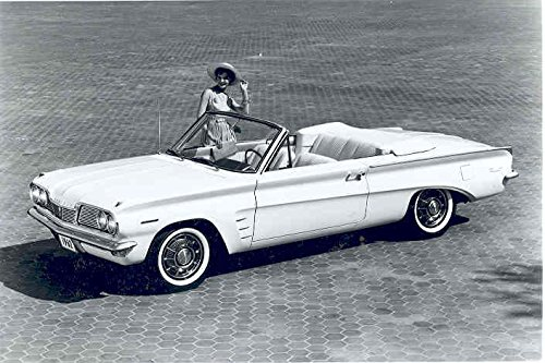 Pontiac Tempest Convertible (1962 Pontiac Tempest Convertible Factory Photograph)