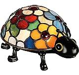 Quoizel TF6031VB 1-Light Tiffany Table Lamp in Vintage Bronze