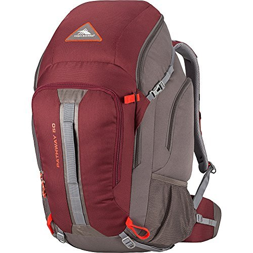 High Sierra Pathway 50L, Cranberry/Slate/Redrock For Sale