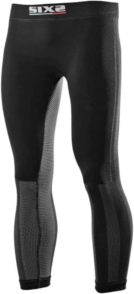 SIXS mens Black carbon WindShell leggings Underwear with butt-patch 600-0116 XX-Large 2XL