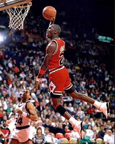 Michael Jordan Dunk 11 x 14 Canon Film Photo