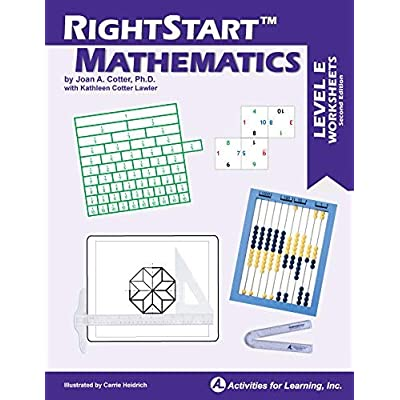 RightStart Mathematics Level E Worksheets: Industrial & Scientific
