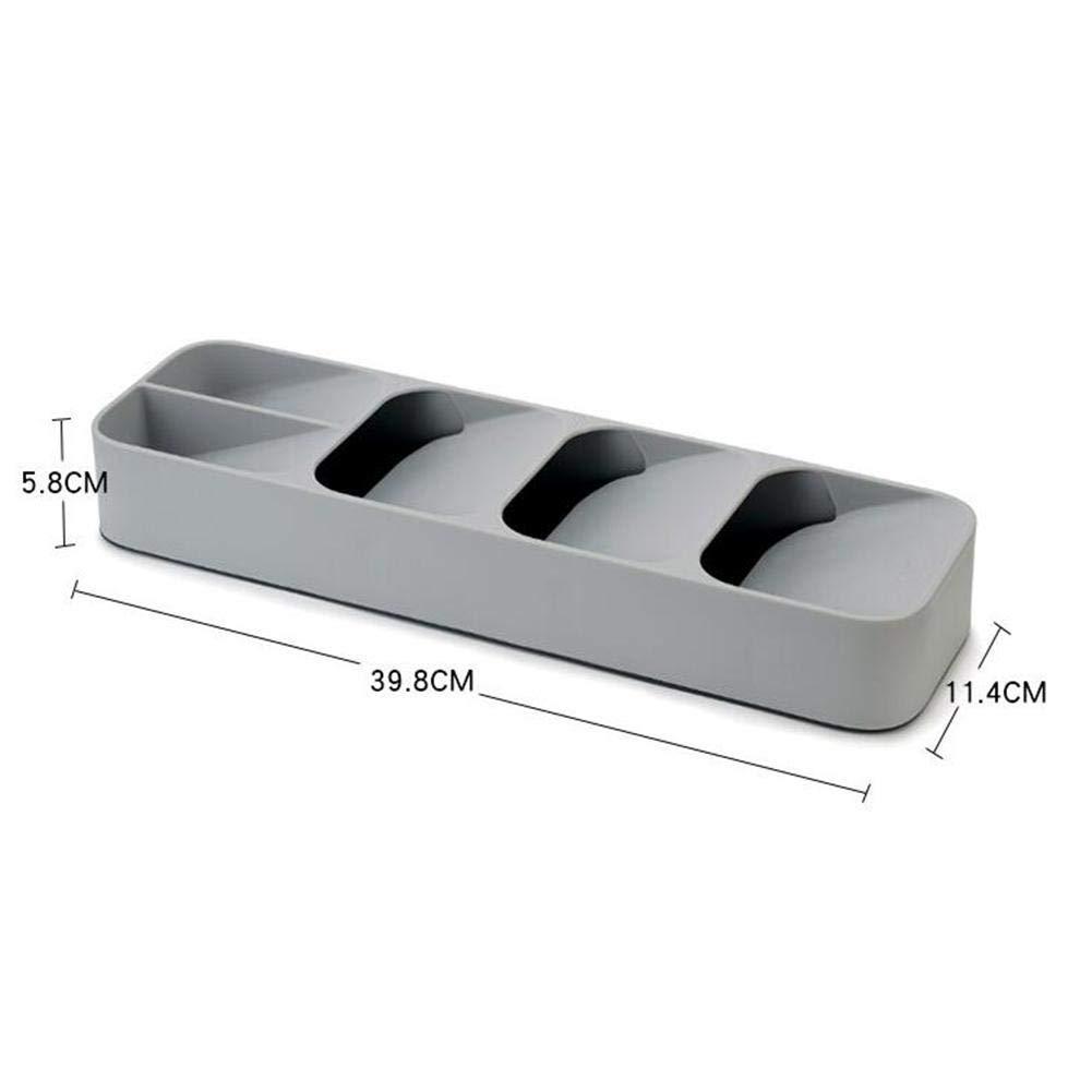 JIALI - Caja de almacenamiento para tenedor y cuchara, cajón ...