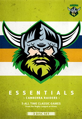 Essentials Canberra Raiders DVD