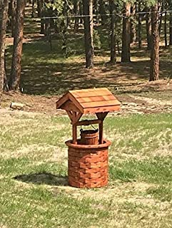 """product image for DutchCrafters Amish Made 56"""" Cedar Wishing Well (Large)"""