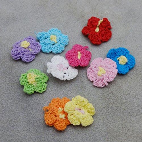 Crochet Flower Embellishment - 8
