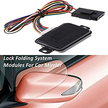 Car Smart Side Rear View Mirror Automatic Folding Closer//Unfloding System Module