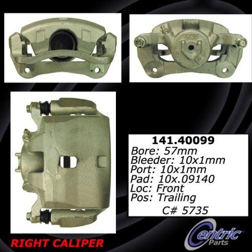 Centric Parts 141.40099 Semi Loaded Friction Caliper