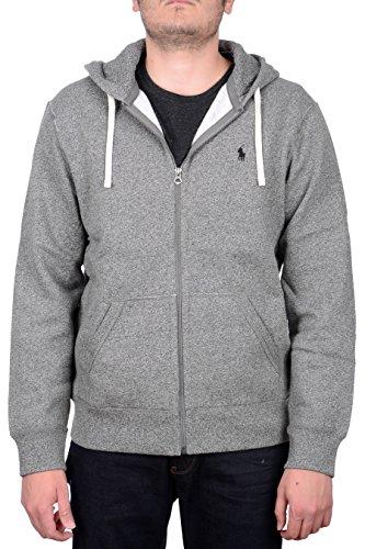Polo Ralph Lauren Classic Full-Zip Fleece Hooded Sweatshirt (X-Large, Alaskan - Ralph Classic Lauren