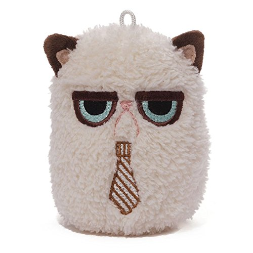 Gund Grumpy Cat Mini Plush with Tie, 4 by GUND
