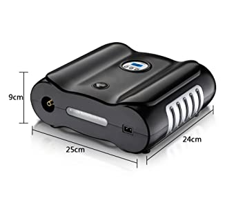 YLG Inflador Eléctrico Portátil Automático para Neumáticos,Compresor De Aire Digital,Inflador, Luz LED, 12V,para Neumáticos, Objetos Inflables: Amazon.es: ...