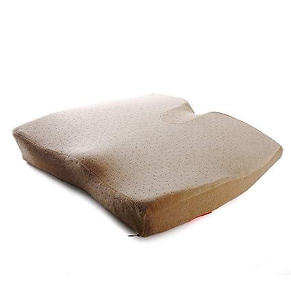 Espuma de la memoria Almohadillas para sillas Y cojines Respirable Amortiguador de asiento de confort premium