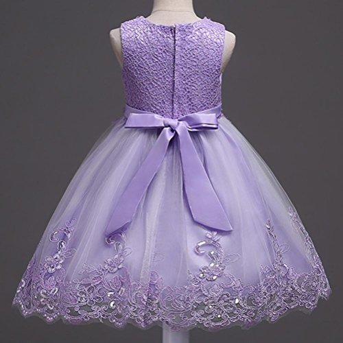 Oyedens Bambine Principessa Abiti Eleganti Bambina Girl Partito Swing  Vestiti  Amazon.it  Abbigliamento 3c711e15e45