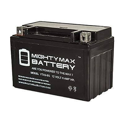 YTX9-BS Replaces Honda ATV TRX300EX TRX400EX 300EX 400EX CBR900R RR - Mighty Max Battery brand product