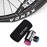 CHICTRY Portable Mini CO2 Air Inflator Bike Tire Pump with Dual Valve Head Adjustable Flow and Cartridge Sleeve Suitable for Road and Mountain Bike Presta and Schrader Valves