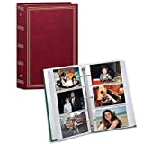 3-ring pocket BURGUNDY album for 504 photos - 4''X6'' (Set of 12)