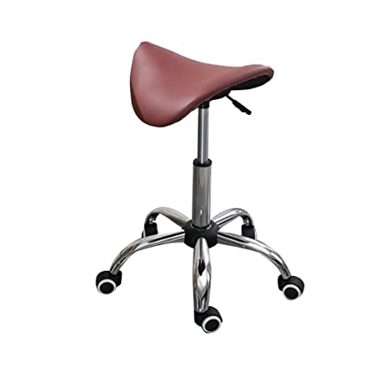 Stupendous Amazon Com Stools Saddle Stool Beauty Salon Stool Massage Caraccident5 Cool Chair Designs And Ideas Caraccident5Info