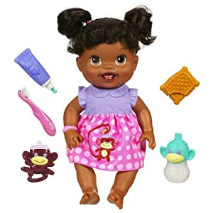 Baby Alive Baby's New Teeth Doll [African American]