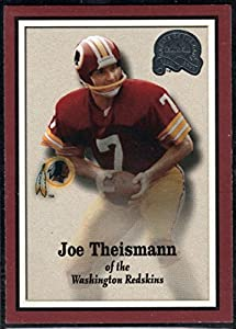 Football NFL 2000 Fleer Greats of the Game #14 Joe Theismann Redskins