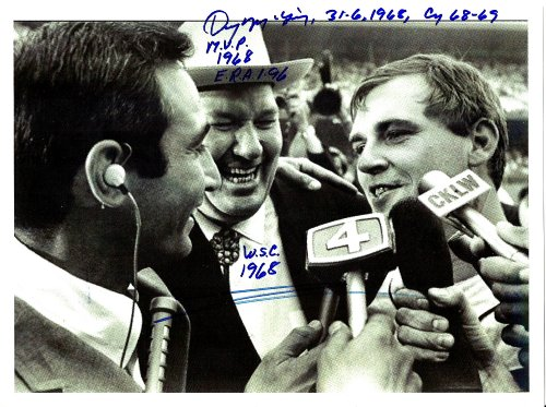 Denny Mclain with Dizzy Dean & Sandy Koufax Detroit Tigers