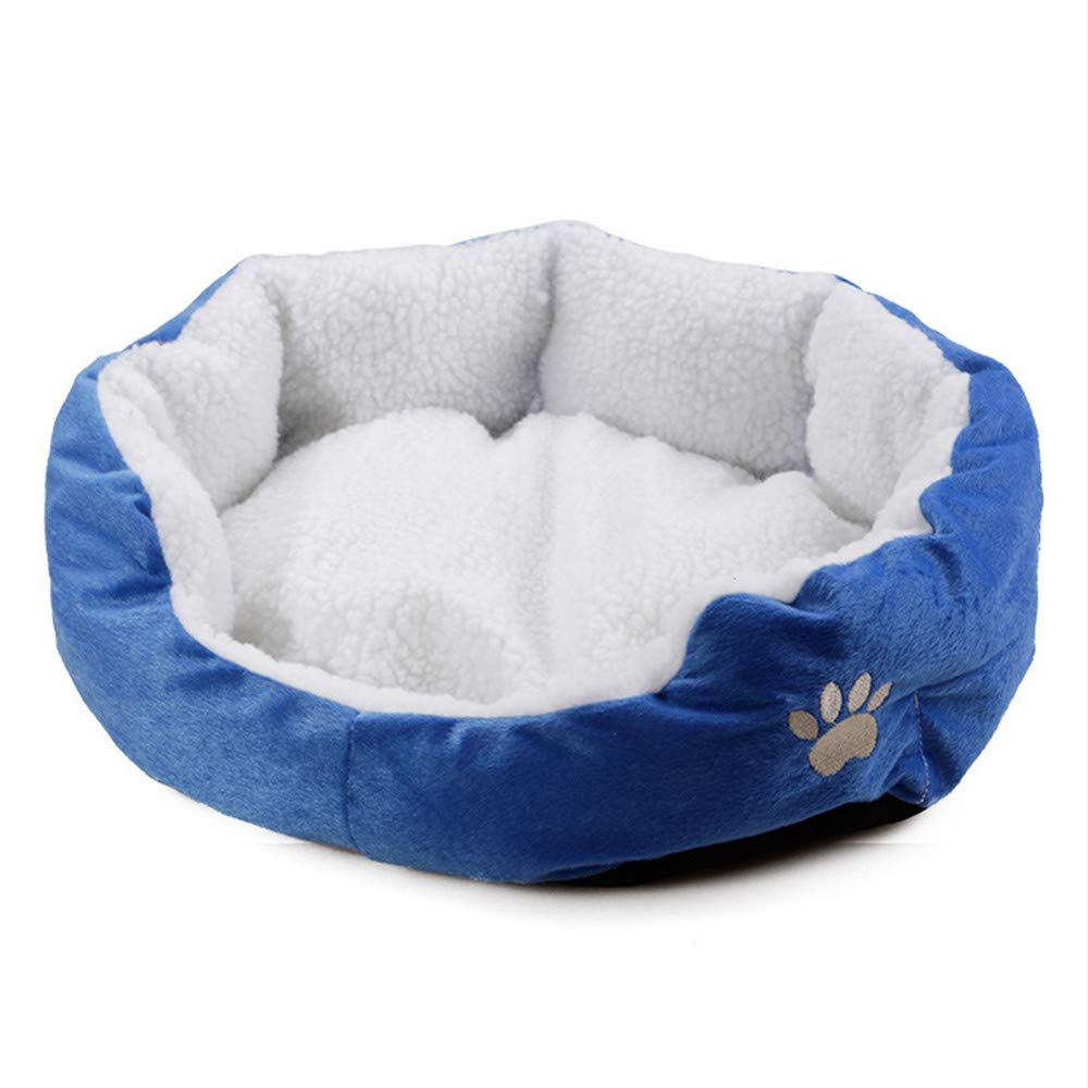 Wuwenw Encantadora Cama para Perros Pequeños Y Medianos Grandes Producto para Perros Sofá Suave Prueba De Agua Cómoda Cama para Perros Cama Cama para Gatos 43X39X14Cm