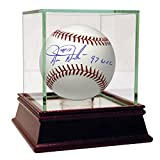 "Darren Daulton Autographed MLB Major League Baseball with ""97 World Series Champion"" inscribed - Case is NOT Included"