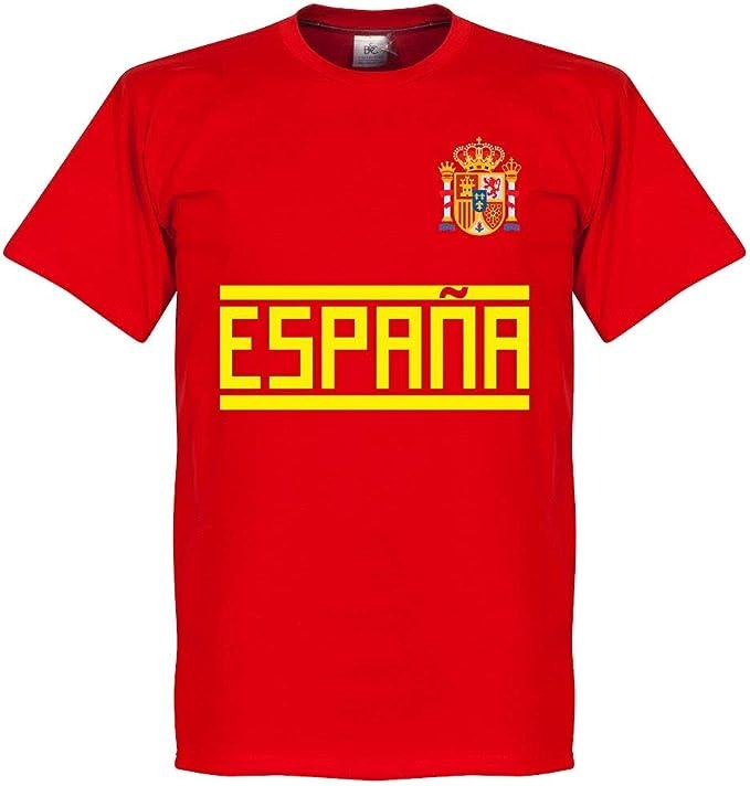 España A. Iniesta 6 Gallery Team Camiseta - Rojo, Hombre, rojo, XXXL: Amazon.es: Deportes y aire libre