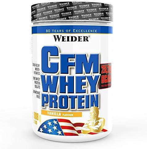 Weider CFM Whey Protein, Vainilla - 908 gr