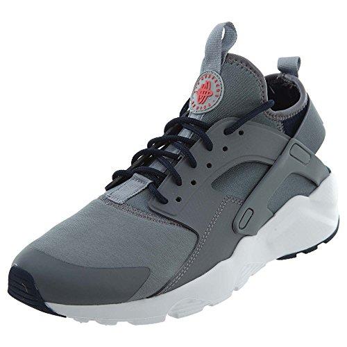 para Running Run Red Grey Wolf de Obsidian Gris Hombre Cool Air Zapatillas Ultra Huarache Solar White Grey Nike qpY0w