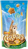 Friskies Crispies Cheese Cat Food, 2.10-Ounce (Pack of 10)