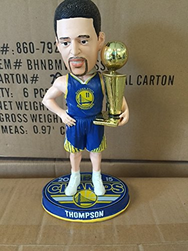 Klay Thompson Golden State Warriors Nba Champions Bobblehead by Forever