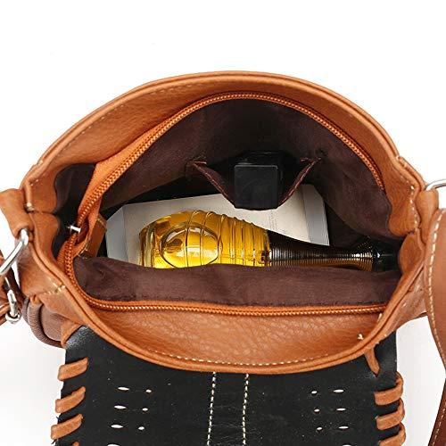negro H1 bag Al lkba black Negro Para Mujer Bolso Hombro Specool 7YP0q