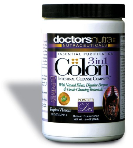 Colon Intestinal Cleanse 3-in-1 Complete Powder