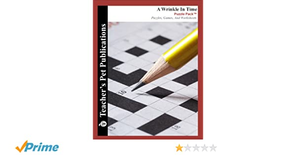 A Wrinkle In Time Puzzle Pack - Teacher Lesson Plans, Activities ...