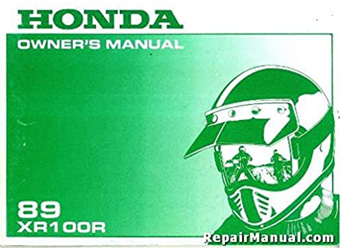 honda xr100r owners manual expert user guide u2022 rh manualguidestudio today honda xr100r service manual free download honda xr100r service manual pdf