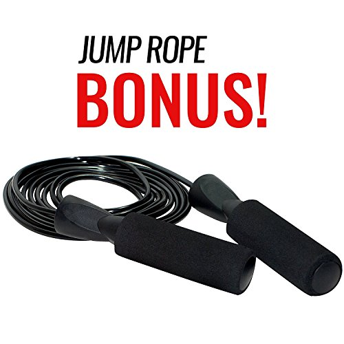 Anchor Strap Kit for Battle Rope Training by Ignite Fitness, Great Addition to Crossfit Circuits, Features Commercial Grade Nylon and Ultra Heavy Duty Carabiner, Easy to Use, Extreme Durability