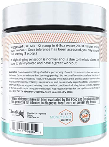 Alani Nu Pre Workout Powder w/Caffeine, L-Theanine & Beta Alanine, Mimosa, 30 Servings … by Alani Nu (Image #2)