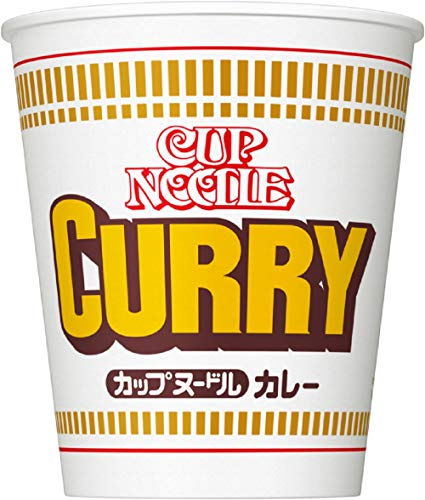 (Nissin Cup Noodles Curry 85g in 20 units per case)
