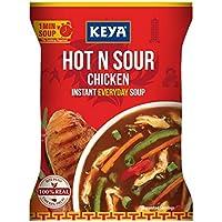Keya Instant Soup, Hot n Sour Chicken, 44g (Four Serve)