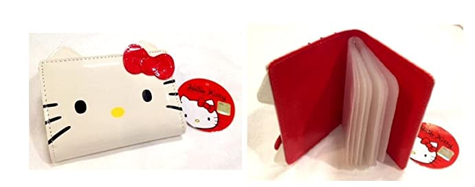 Sanrio hello kitty business card holder wallet at amazon womens sanrio hello kitty business card holder wallet reheart Images