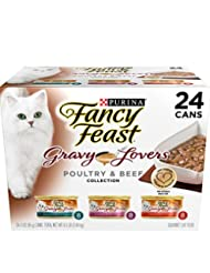 Purina Fancy Feast Poultry & Beef Feast Collection Cat Food -...