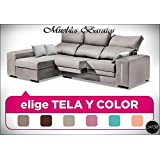 Sofas rinconera chaise longue salon sofa chaiselongue cheslong cheslon ref-85