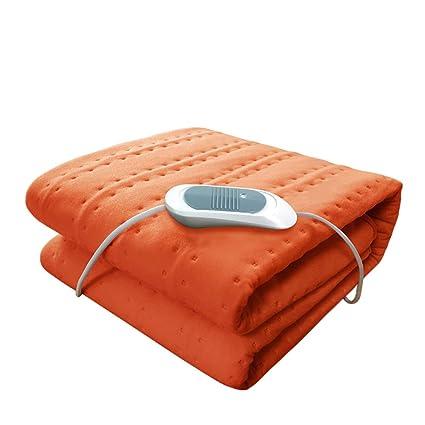 Acolchado Manta eléctrica,Calentamiento Colchón Almohadilla Ajuste de la temperatura Frazada eléctrica Para Dormitorio de