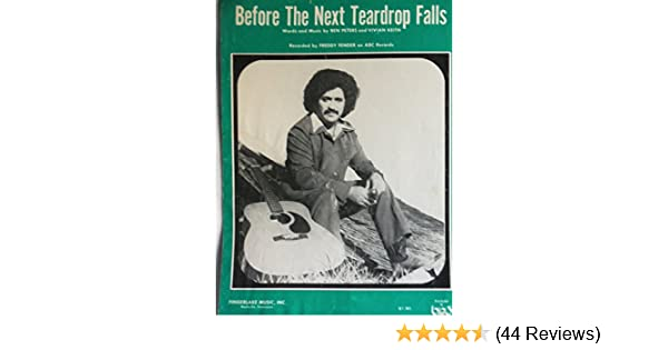 Before The Next Teardrop Falls As Recorded By Freddy Fender On Abc
