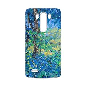 Blue forest scenery painting Phone Case for LG G3