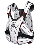 Troy Lee Designs 5900 Youth Off-Road Motorcycle Chest Protector - White/One Size