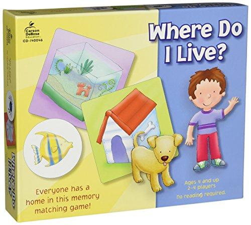 Where Do I Live? Educational Board Game